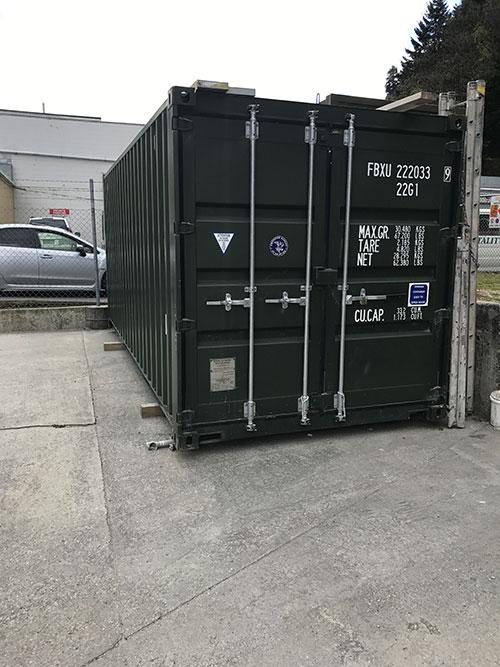 Container Storage Queenstown - 20 ft